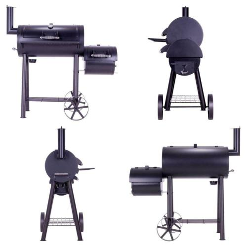 Barbecue fumoir XXL pour grillades au gout incomparable.