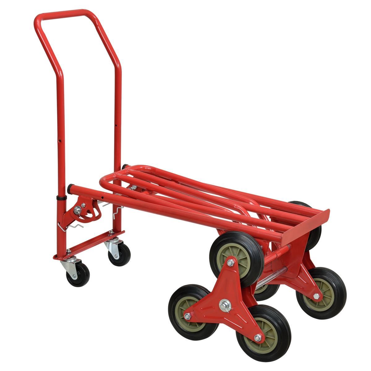 diable transport dans escalier transformable en chariot. Black Bedroom Furniture Sets. Home Design Ideas