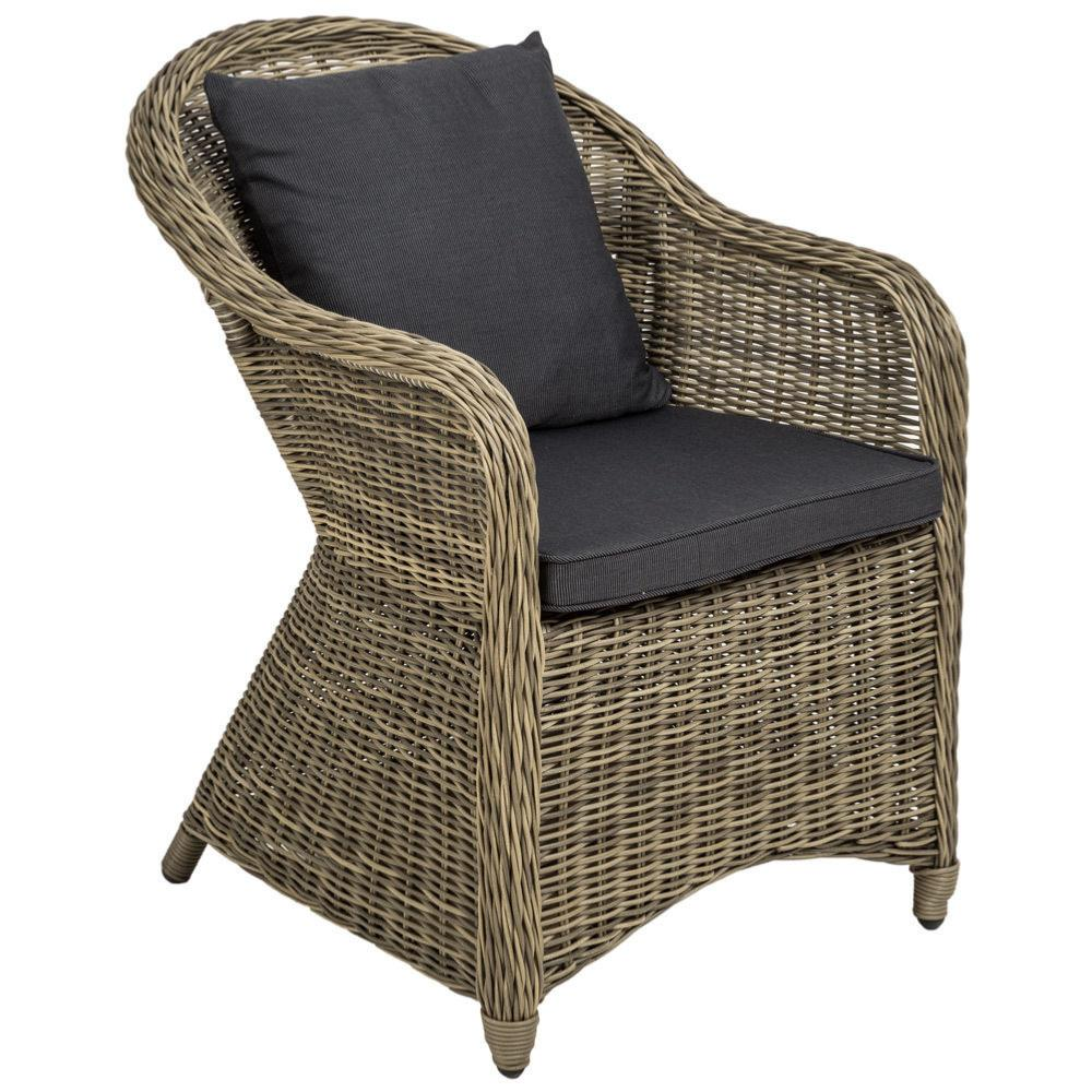 salon jardin de luxe aluminium et r sine tress e beige. Black Bedroom Furniture Sets. Home Design Ideas