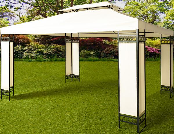 tonnelle de jardin 3 x 4 m. Black Bedroom Furniture Sets. Home Design Ideas