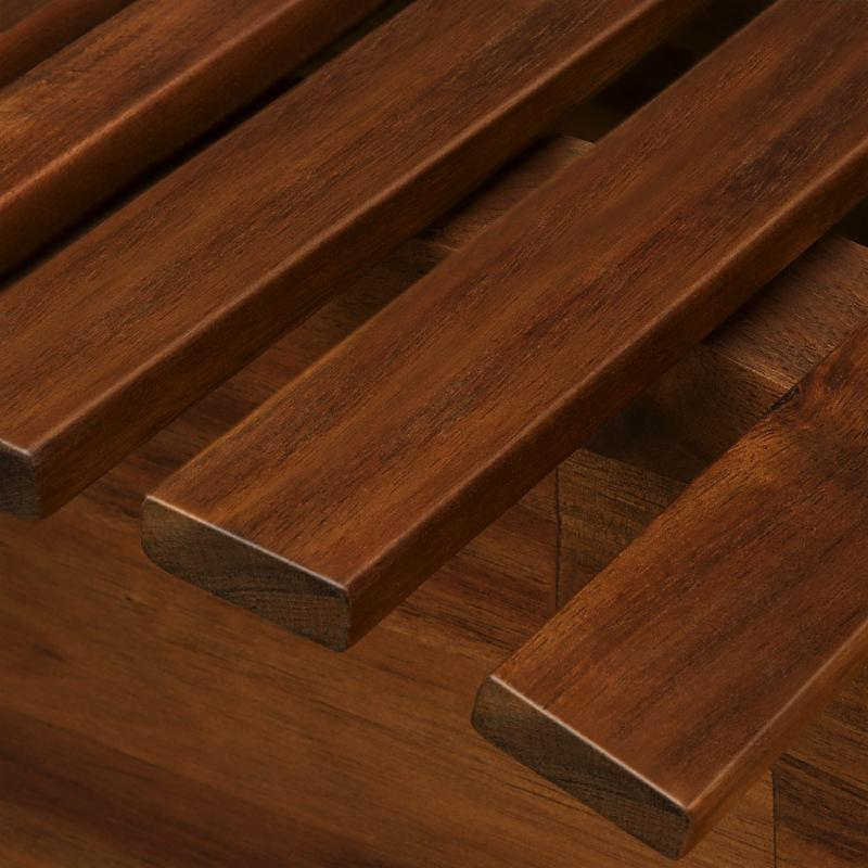 transat bain de soleil design en bois acacia. Black Bedroom Furniture Sets. Home Design Ideas