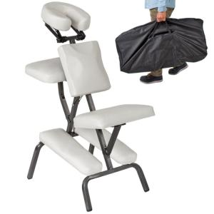 CHAISE de massage, pliante + sac transport, 3 coloris