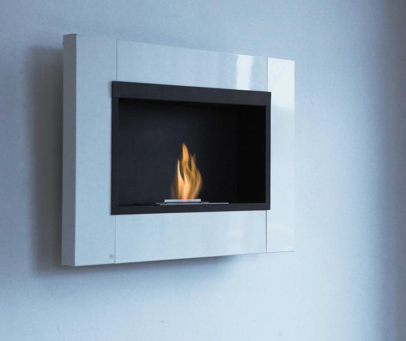 cheminee bio thanol design inox blanche mod le l. Black Bedroom Furniture Sets. Home Design Ideas
