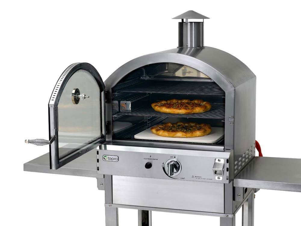 four pizzas en inox gaz qualit pro. Black Bedroom Furniture Sets. Home Design Ideas