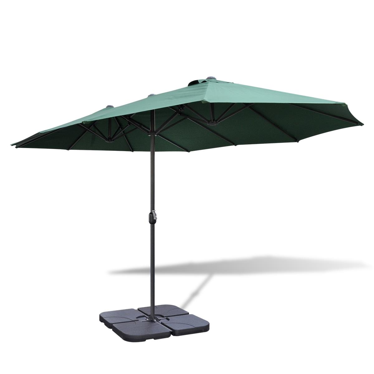 socle adaptable base 4 l ments pour pied de parasol en croix. Black Bedroom Furniture Sets. Home Design Ideas