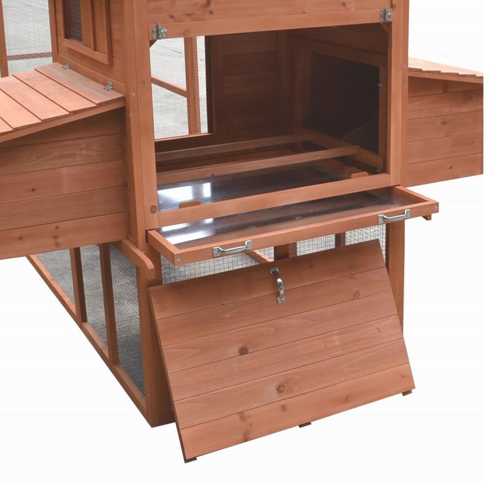 poulailler clapier xxl en bois massif taille 3 10 m tres. Black Bedroom Furniture Sets. Home Design Ideas