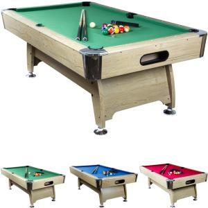 BILLARD PRO 7Ft, design, 3 coloris de tapis