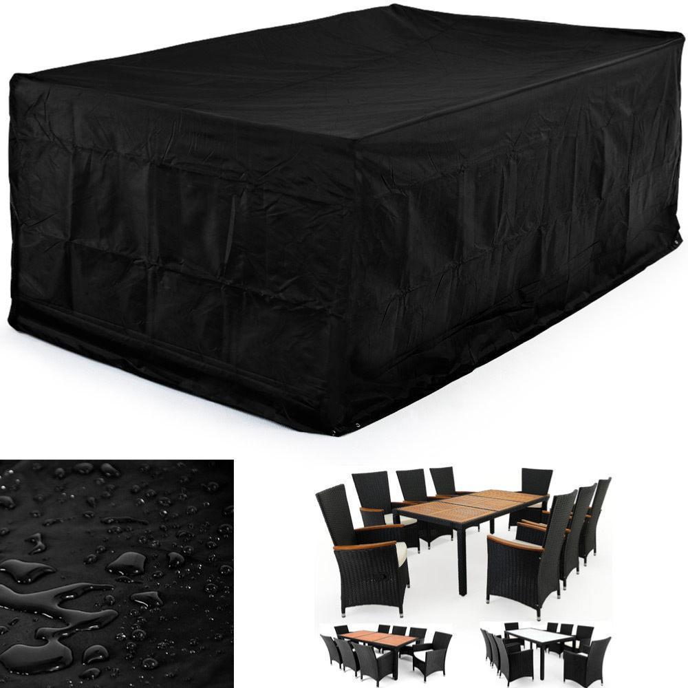 housse de protection pour salon de jardin 8 places. Black Bedroom Furniture Sets. Home Design Ideas