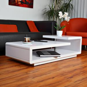 TABLE basse, ultra design, modèle LEMON