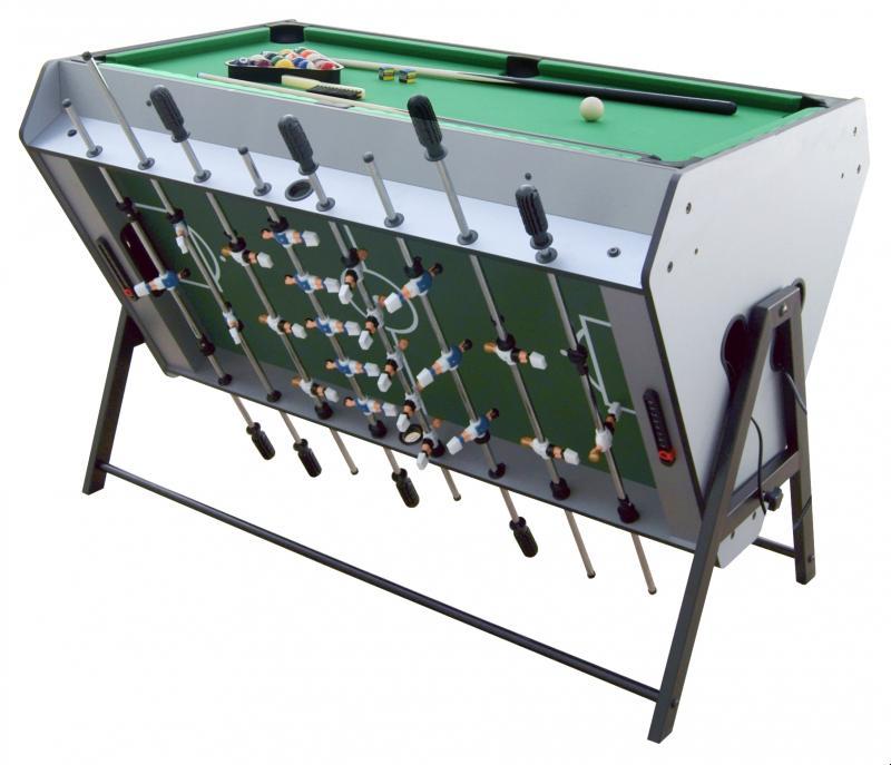 Table de jeu 3 en 1 air hockey baby foot et billard - Table de ping pong pas cher decathlon ...