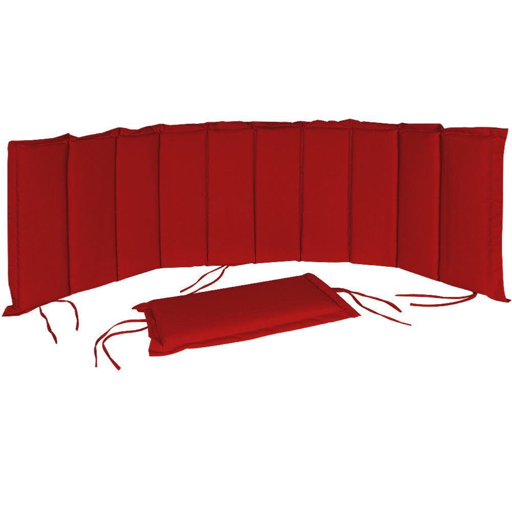 coussin pour bain de soleil couleur bordeaux. Black Bedroom Furniture Sets. Home Design Ideas