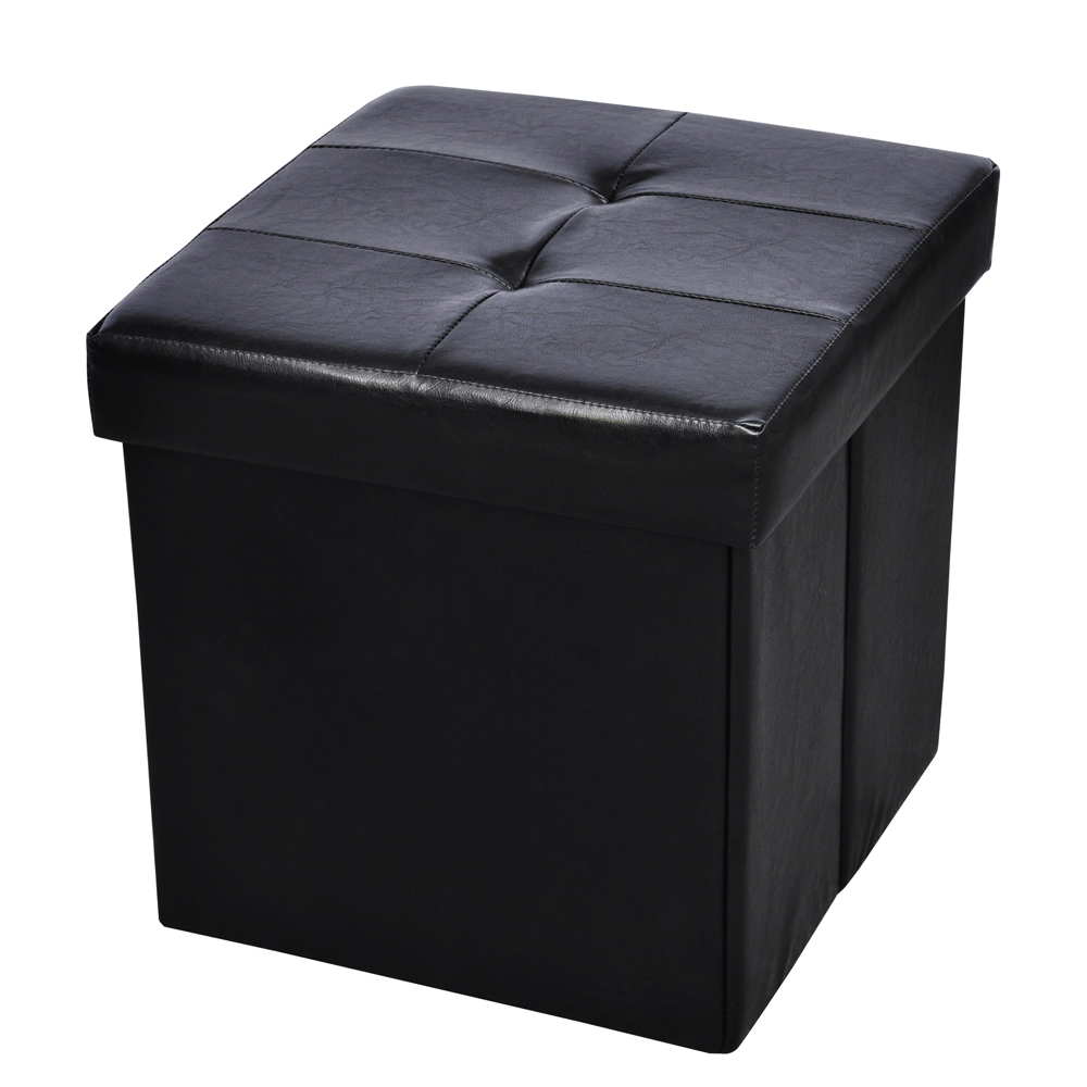 pouf de rangement cube coffre tabouret. Black Bedroom Furniture Sets. Home Design Ideas