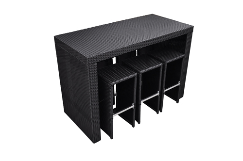 table de jardin haute qualit. Black Bedroom Furniture Sets. Home Design Ideas