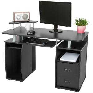 BUREAU informatique design, noir