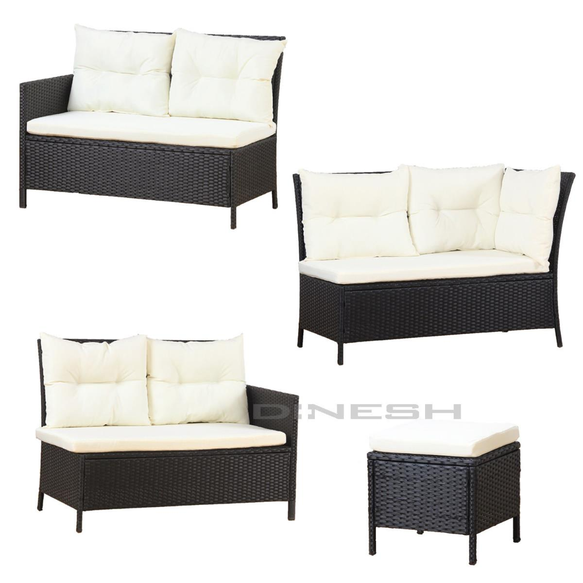 salon de jardin canap r sine tress e table 10 personnes. Black Bedroom Furniture Sets. Home Design Ideas