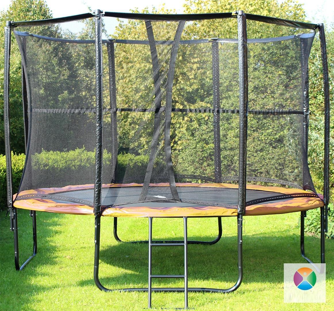 trampoline complet 430 cm mod le gold. Black Bedroom Furniture Sets. Home Design Ideas