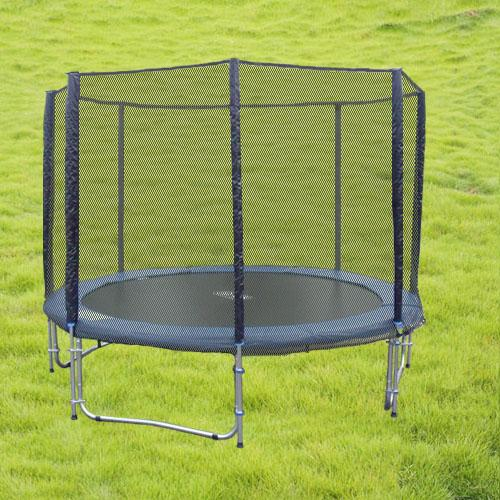 trampoline complet 250 cm 150 kg de charge. Black Bedroom Furniture Sets. Home Design Ideas