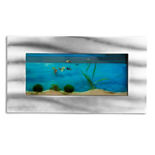 aquarium mural 590x325x110 mm, design, aluverre