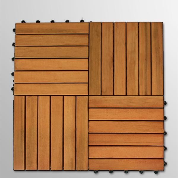 dalles bois 30 x 30 cm pour terrasse eucalyptus. Black Bedroom Furniture Sets. Home Design Ideas