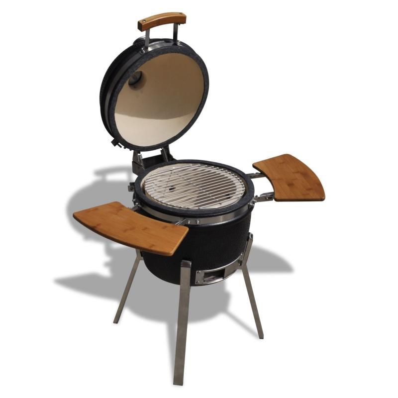 Barbecue charbon en c ramique sur pieds for Quel barbecue charbon choisir