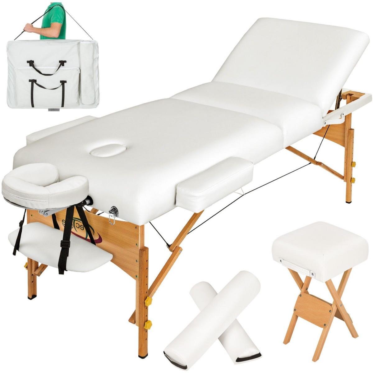 Pro Table Accessoires3 Massage ZonesPlianteBlanche De Avec BdCexo