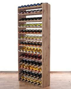 Casier à vin et bouteilles