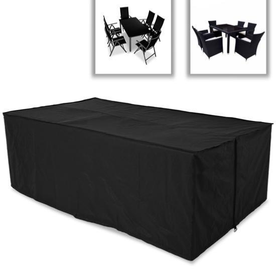 housse protection pour salon de jardin6 places. Black Bedroom Furniture Sets. Home Design Ideas