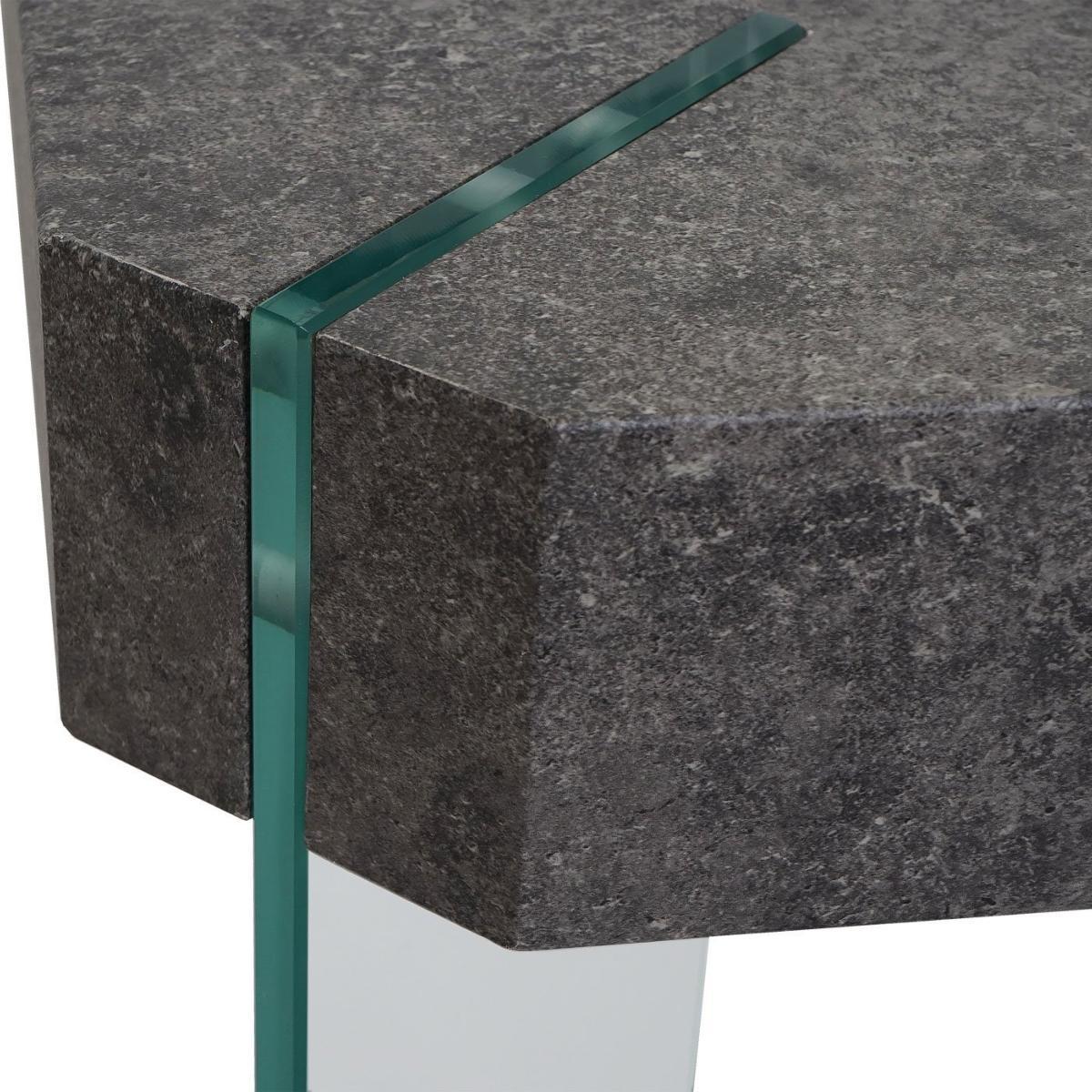 table basse bois aspect b ton 110 cm mod le asten. Black Bedroom Furniture Sets. Home Design Ideas