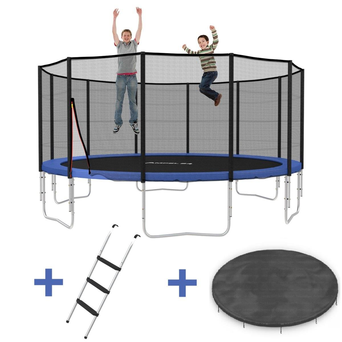 trampoline 490 cm de diam tre haute qualit complet. Black Bedroom Furniture Sets. Home Design Ideas