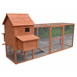 poulailler clapier en bois massif taille xxl 301 cm. Black Bedroom Furniture Sets. Home Design Ideas