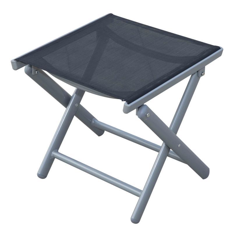 repose pieds alu pour chaise de salon de jardin. Black Bedroom Furniture Sets. Home Design Ideas