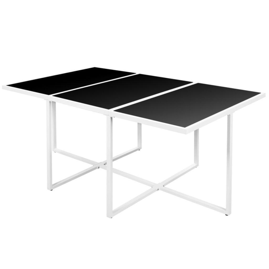 salon de jardin aluminium blanc textil ne 10 places. Black Bedroom Furniture Sets. Home Design Ideas