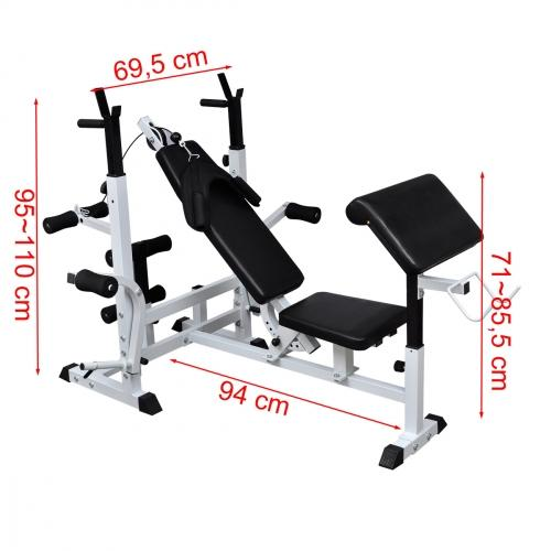 Banc de musculation complet - Banc de musculation complet ...