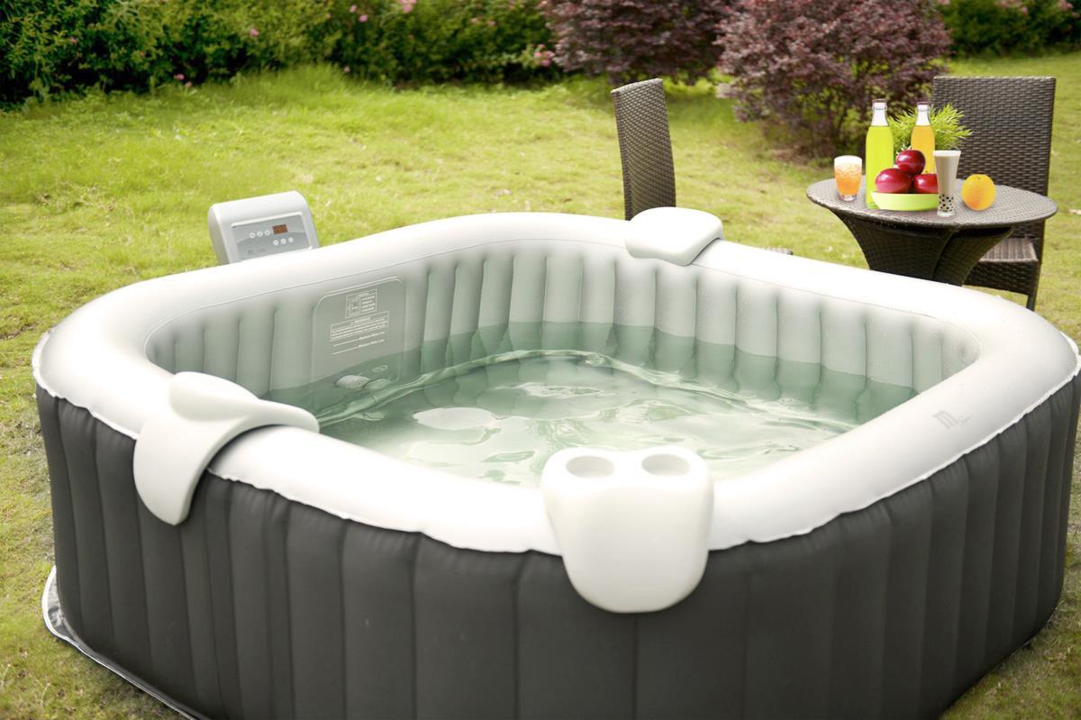 jacuzzi spa transportable pour 6 personnes. Black Bedroom Furniture Sets. Home Design Ideas