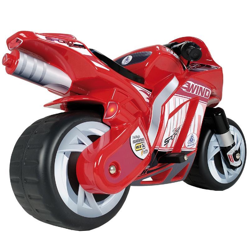 moto sport electrique pour enfants rouge. Black Bedroom Furniture Sets. Home Design Ideas