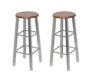 Tabourets de bar, lot de 2