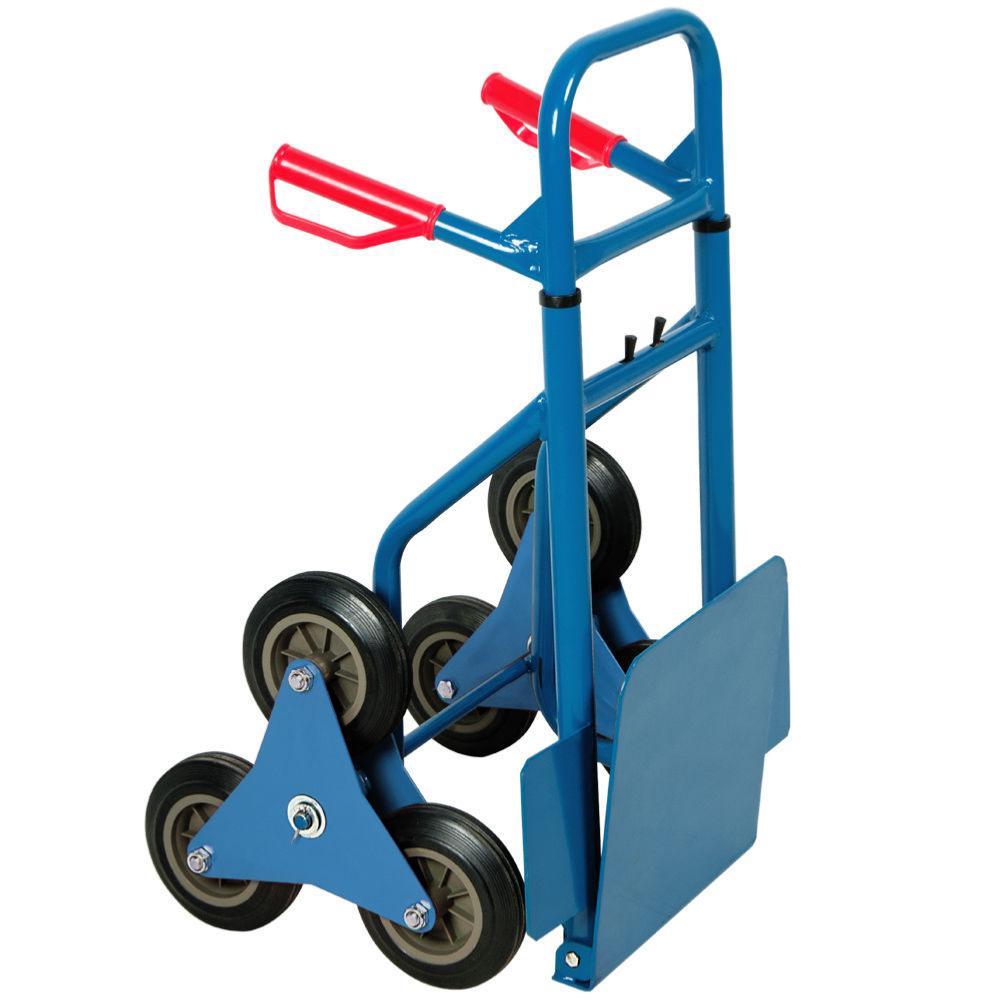diable 6 roues pratique pour transport dans escalier. Black Bedroom Furniture Sets. Home Design Ideas