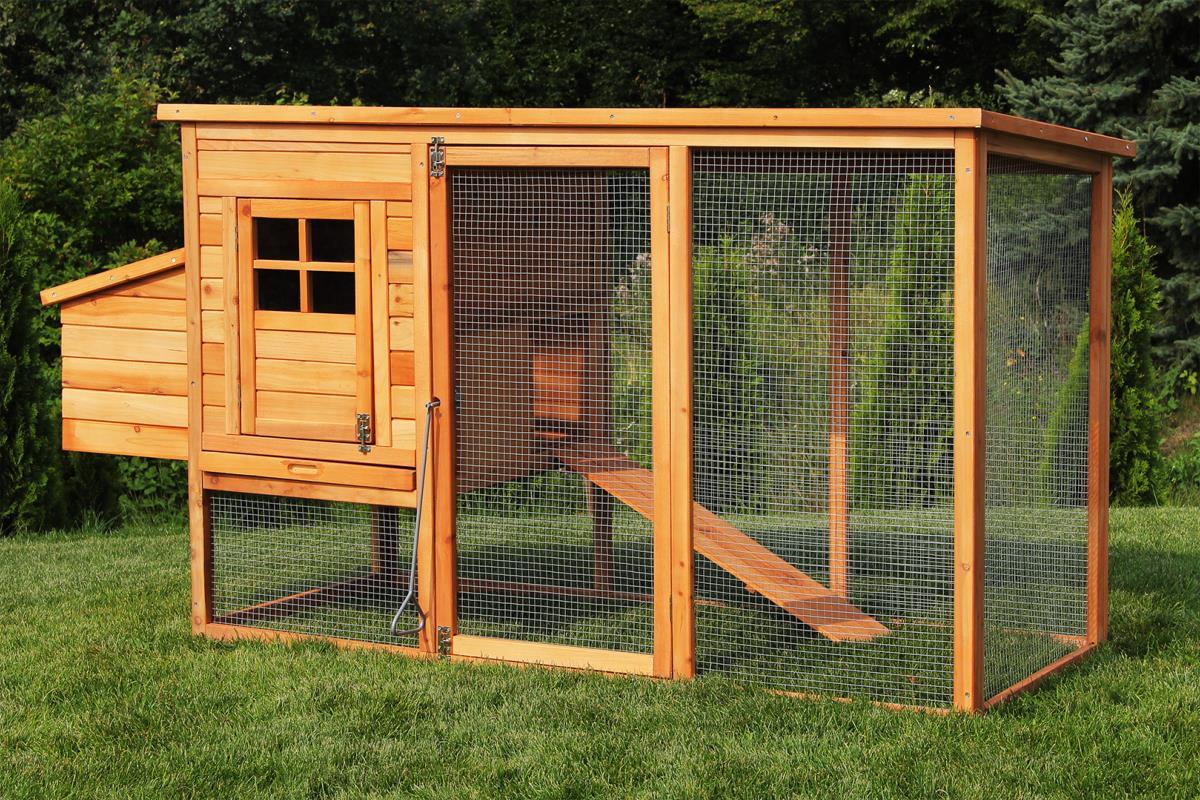 poulailler clapier 195 cm bois massif mod le colorado. Black Bedroom Furniture Sets. Home Design Ideas