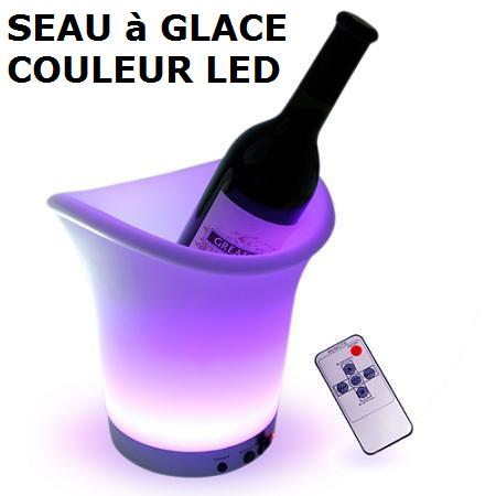 seau glace led changement de couleur. Black Bedroom Furniture Sets. Home Design Ideas