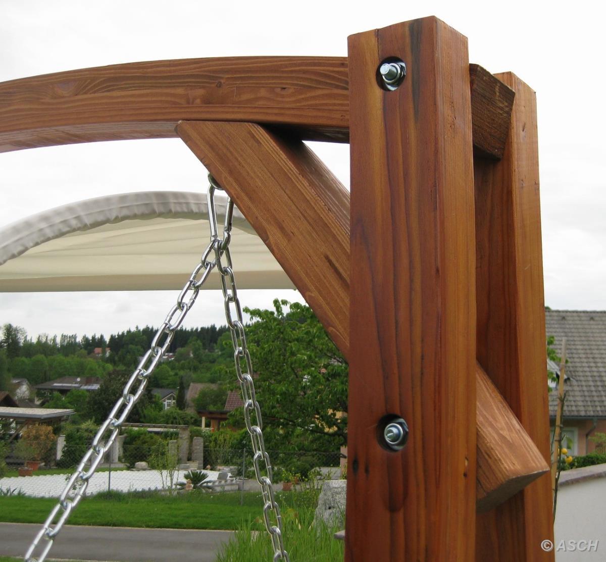 hamac 2 places type balancelle en m l ze massif huil. Black Bedroom Furniture Sets. Home Design Ideas