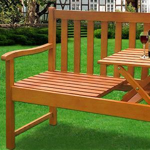 banc de jardin pique nique en bangkirai. Black Bedroom Furniture Sets. Home Design Ideas