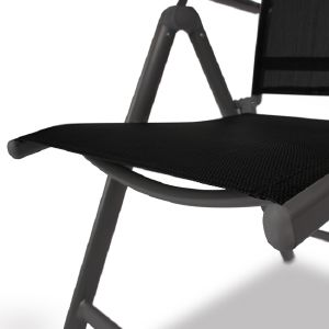 Chaise pliante pour salon de jardin en alu - Chaise pliante salon ...