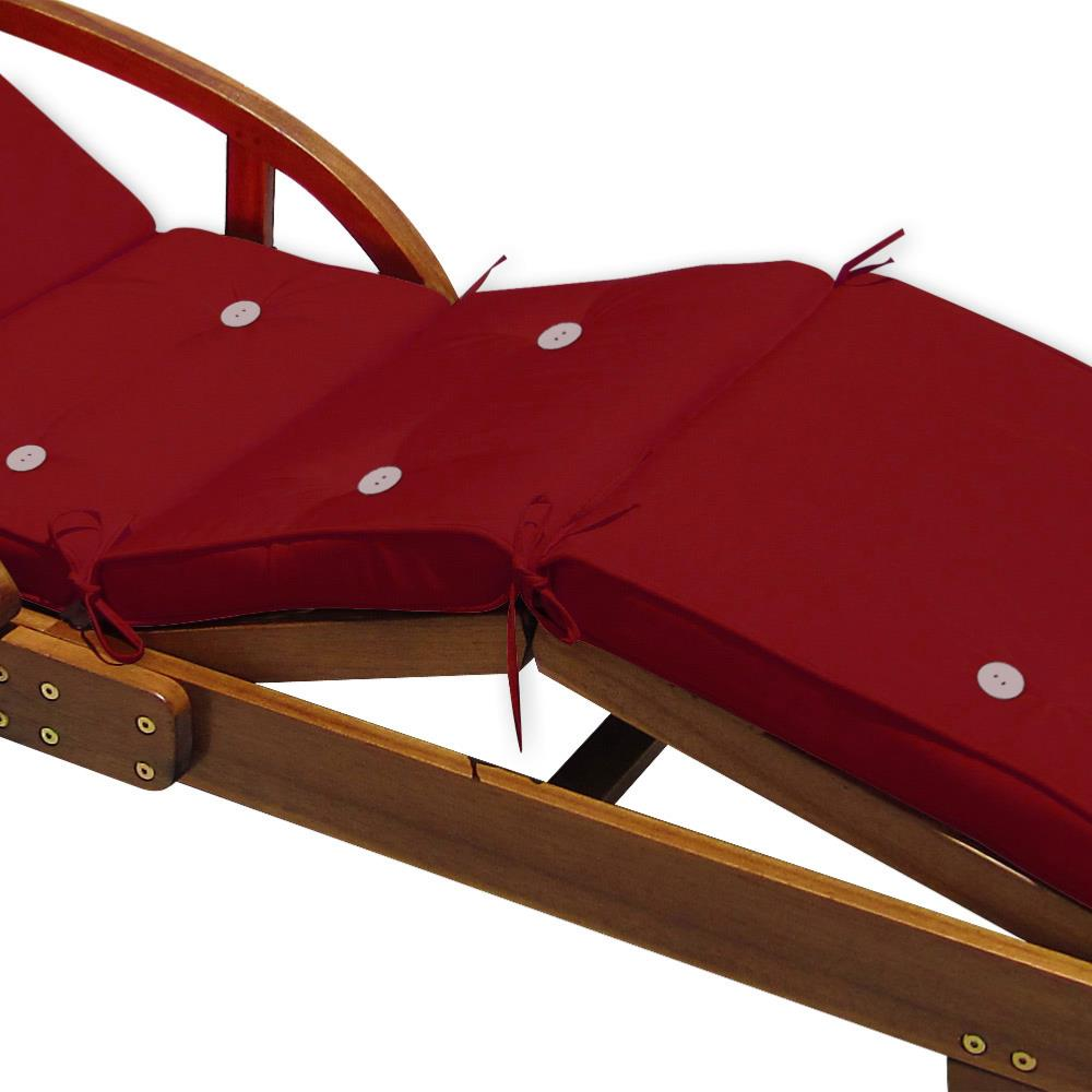 coussin pour bain de soleil transat bordeaux. Black Bedroom Furniture Sets. Home Design Ideas