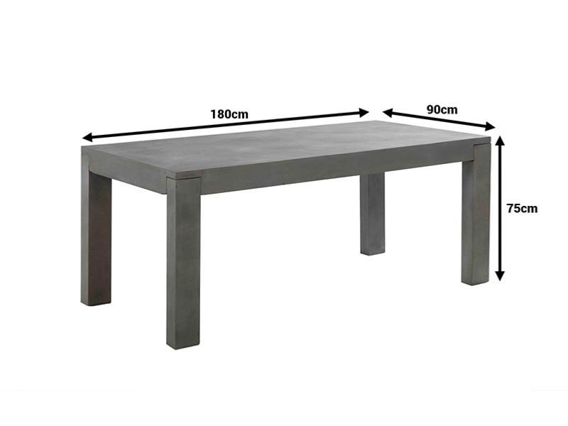 table en b ton 180 cm livraison gratuite. Black Bedroom Furniture Sets. Home Design Ideas