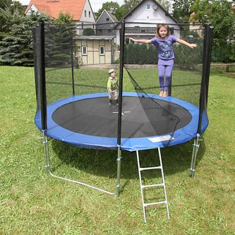 trampoline complet 305 cm 150 kg de charge. Black Bedroom Furniture Sets. Home Design Ideas