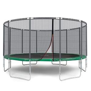 TRAMPOLINE 490 cm, complet, version luxe, 2 coloris