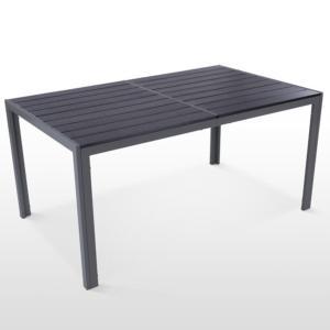 SALON de jardin aluminium/composite pour 6 personnes