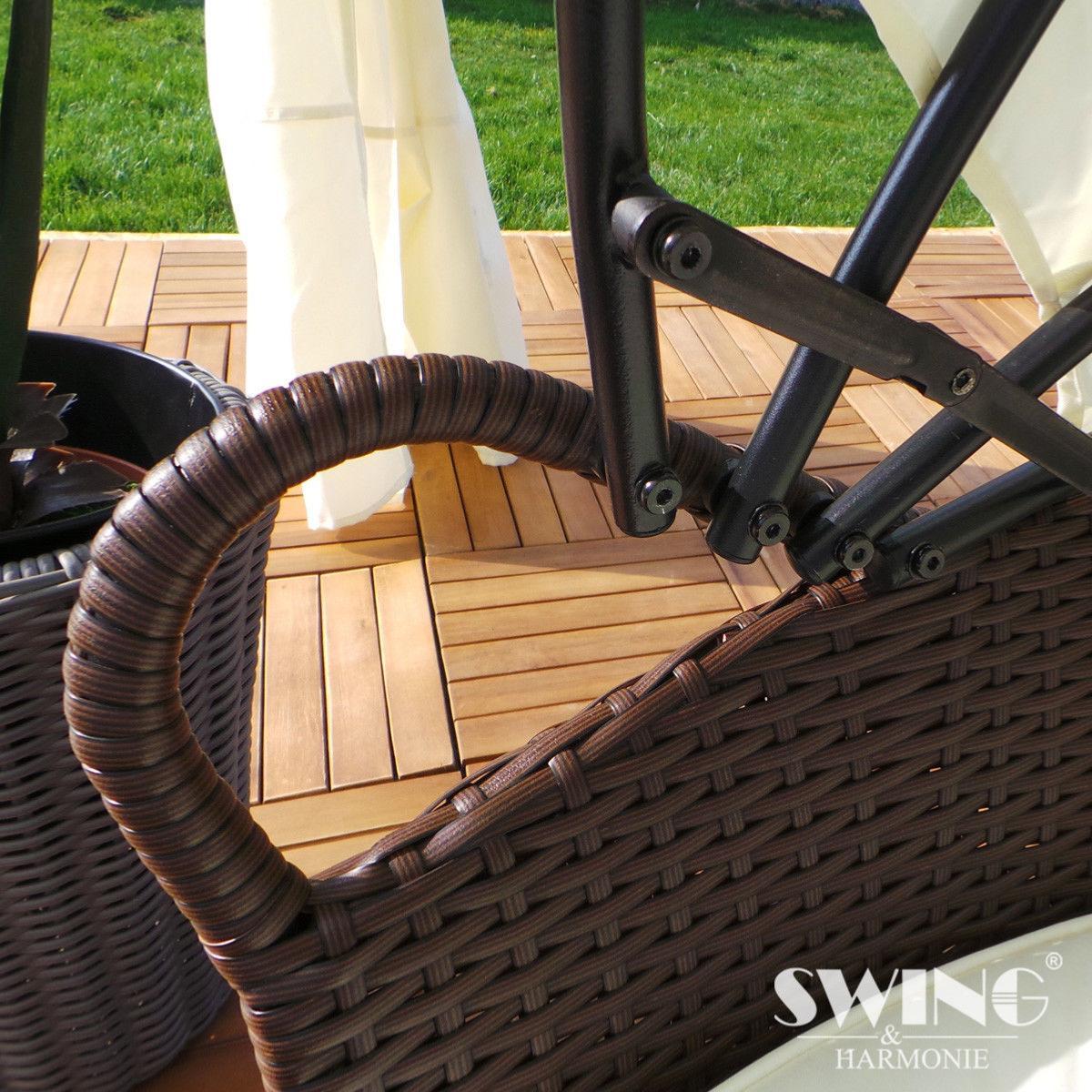 canap jardin r sine tress e clairage led solaire 3. Black Bedroom Furniture Sets. Home Design Ideas