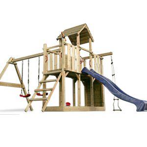 Station De Jeux Pour Enfant En Bois Massif Multi Activites