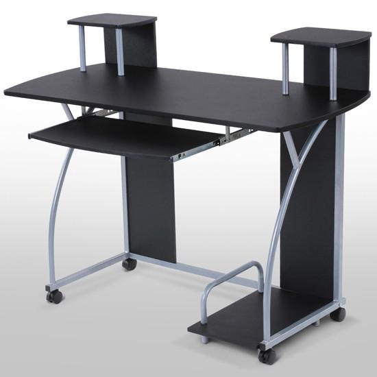 bureau informatique pour enfant ou adolescent violet. Black Bedroom Furniture Sets. Home Design Ideas